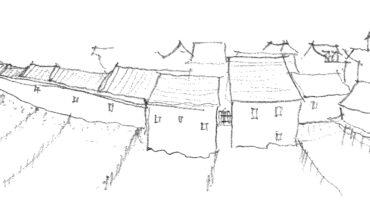 Skizze Kleinsthäuser Kyritz - Baukultur Brandenburg